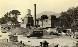 Picture of Mack's first Vermont plant in Arlington, Vt.